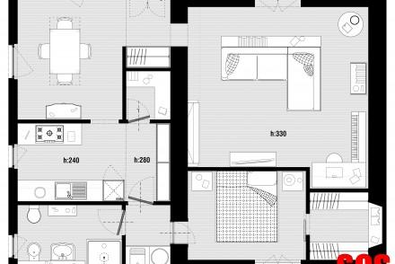 Pianta Progetto Casa