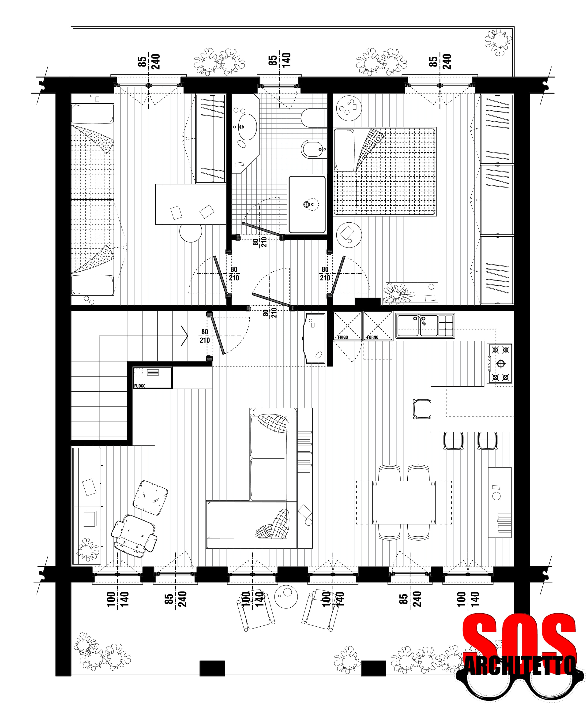 progetto casa andrea vertua architetto sos architetto