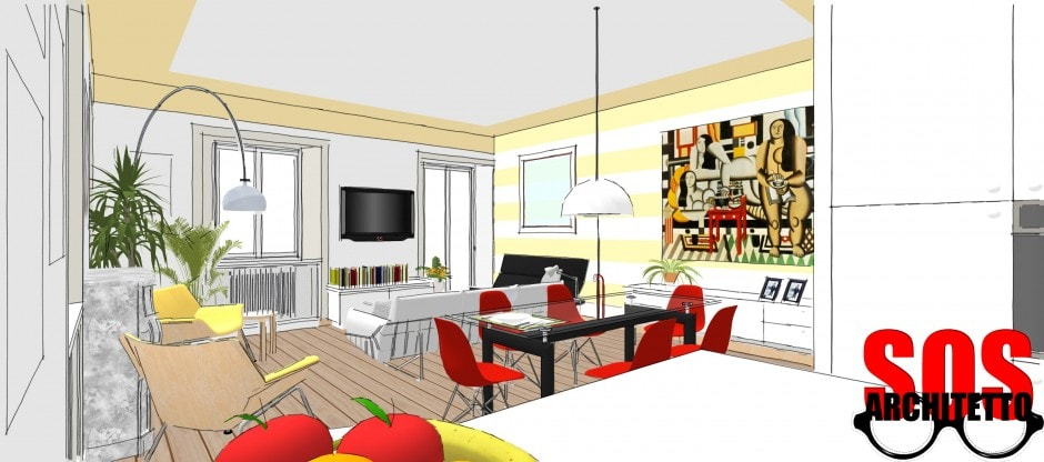 Casa progetto 003 sos architetto online sos architetto for Progetto online casa