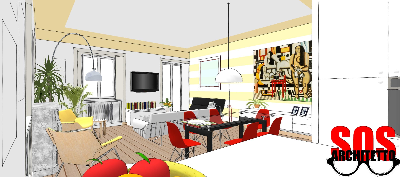 Lampadari in ferro battuto stile provenzale - Divisori cucina soggiorno ...