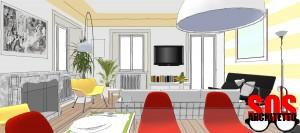 Progetto Casa Soggiorno
