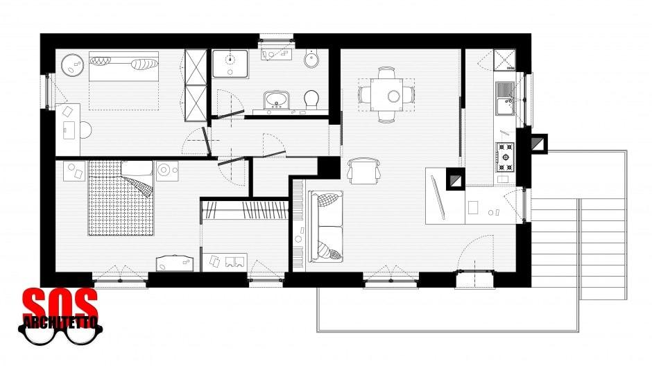 Progetto casa online soluzione alternativa with progetto for Rendere i progetti di casa online gratis