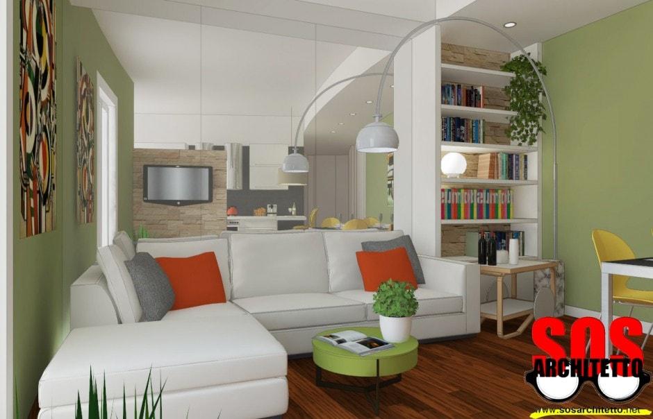 Divisorio ingresso soggiorno il miglior design di for Idee colori pareti ingresso