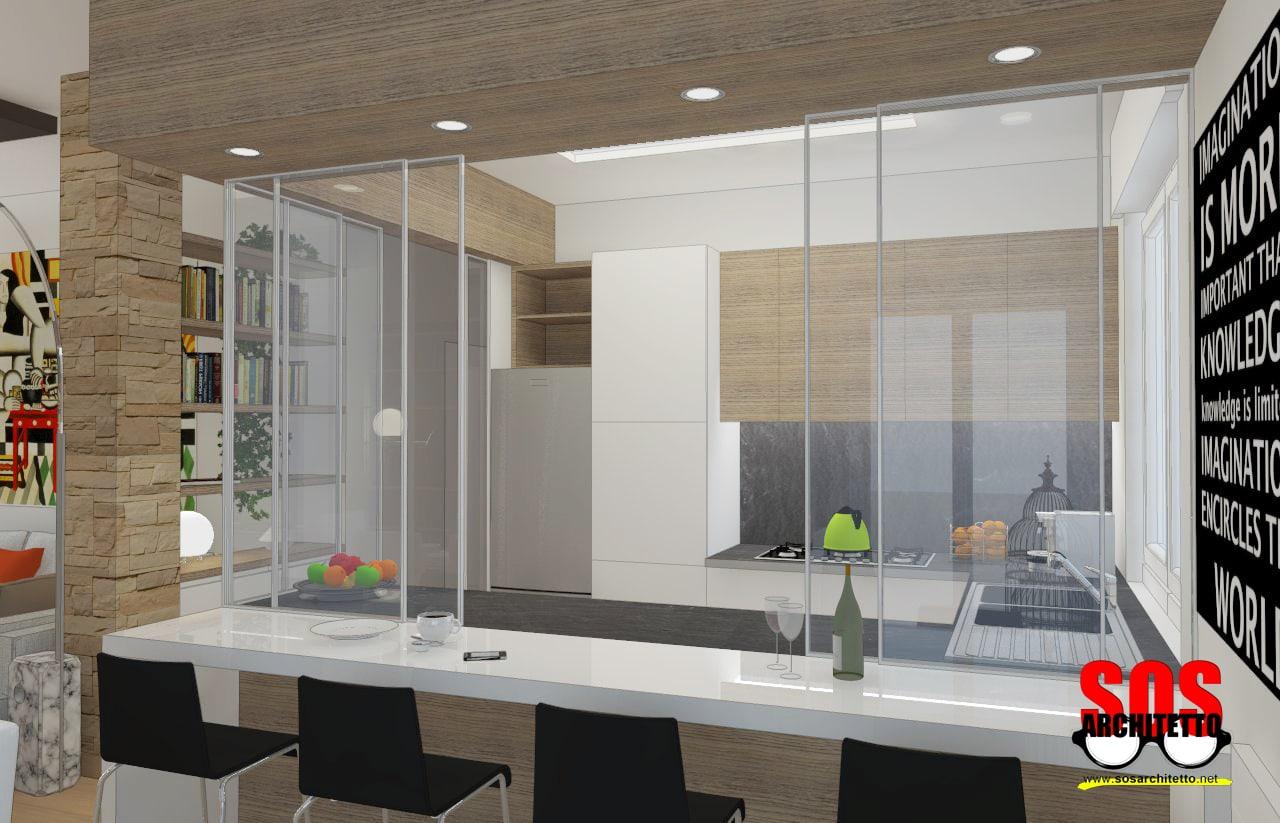 Mobile divisorio cucina soggiorno hz49 regardsdefemmes for Parete divisoria cucina soggiorno