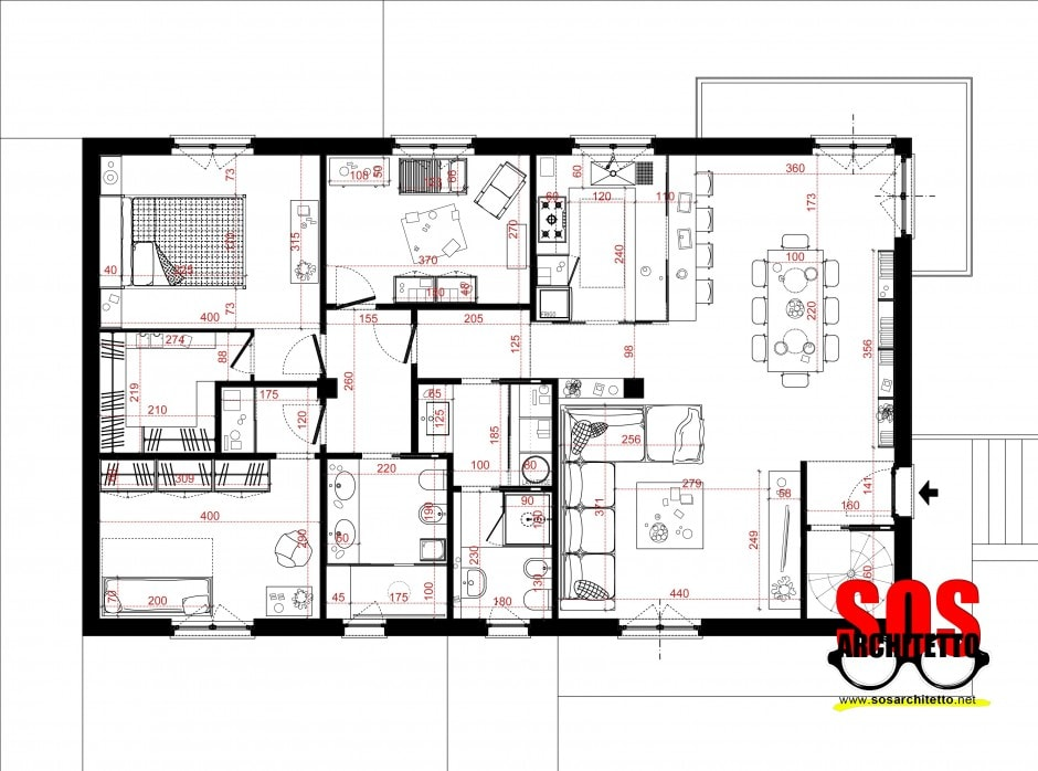 disegnare casa online good piantina on line floor planner