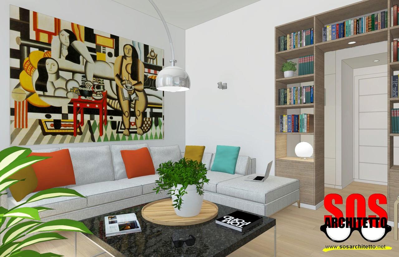 Arredamento casa progetto 018 sos architetto sos for Progetto casa arredamenti
