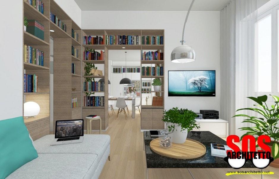 Arredamento casa progetto 018 sos architetto sos for Progetto arredamento online