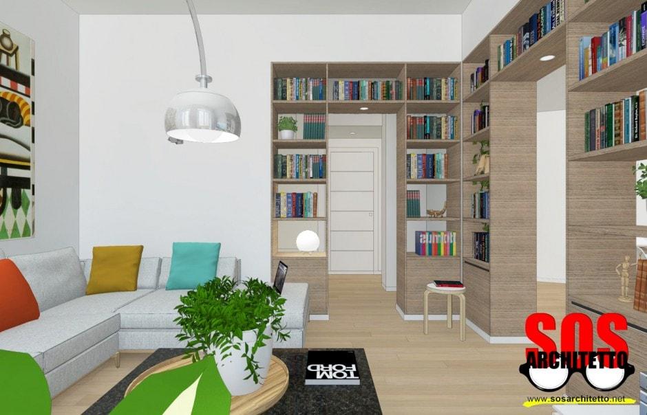 Arredamento casa progetto 018 sos architetto andrea for Progetto casa arredamenti