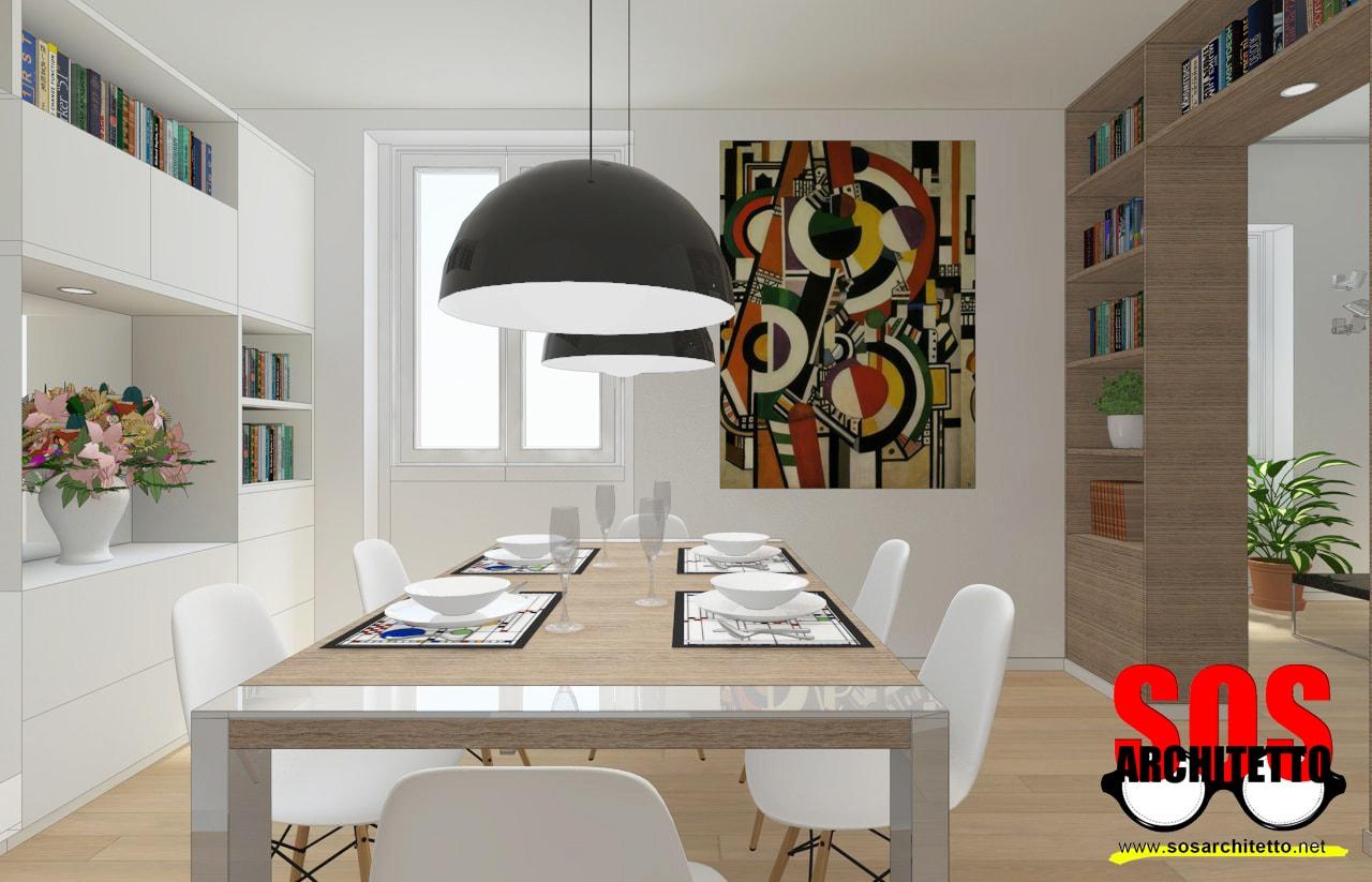 Sala da pranzo archivi andrea vertua architettoandrea for Arredamento casa soggiorno