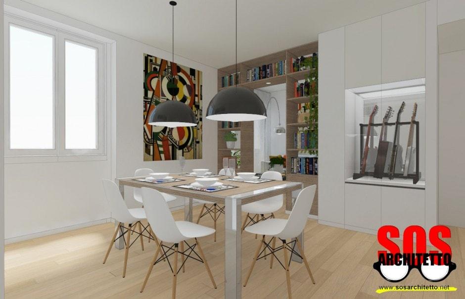 Arredamento casa progetto 018 sos architetto sos for Progetto arredo casa on line