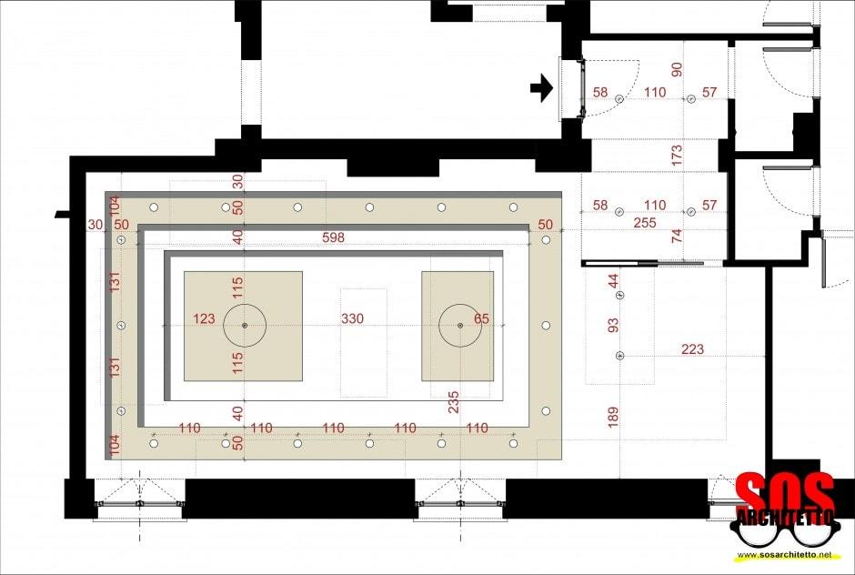 Arredamento Soggiorno Progetto 017  SOS Architetto ...