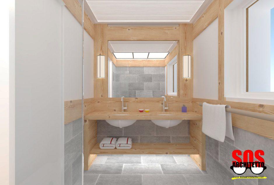 Arredamento suite progetto 021 sos architetto sos for Progetto arredamento online