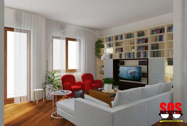 Arredamento Soggiorno - Architetto Online