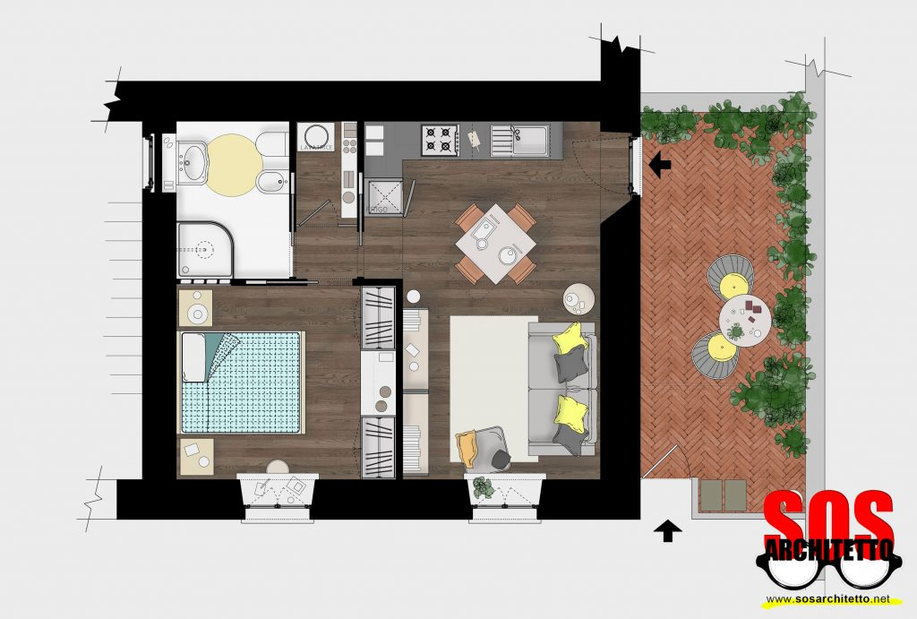 Cucina Progetto Casa - Architetto Online