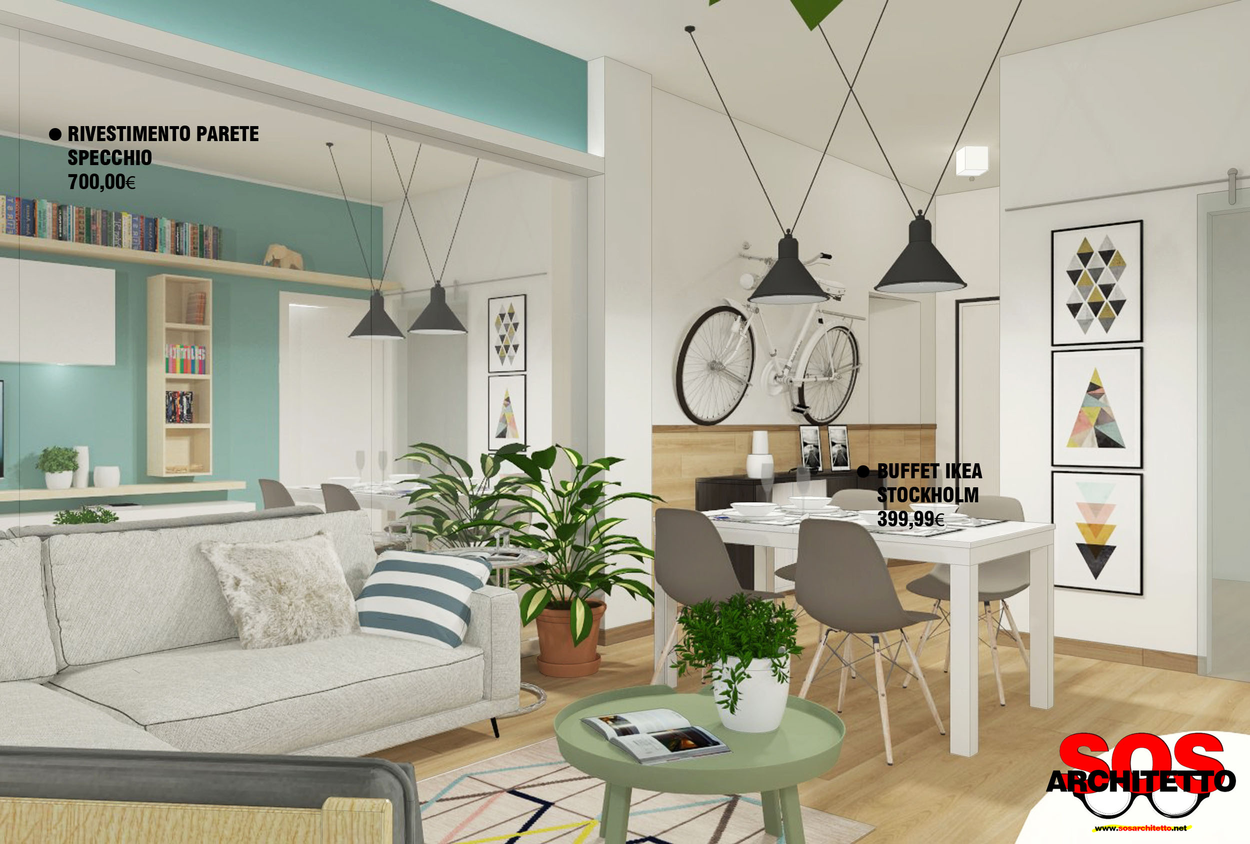 Arredare Casa Gratis Online rivoluzionare un soggiorno con l'arredamento giusto - sos