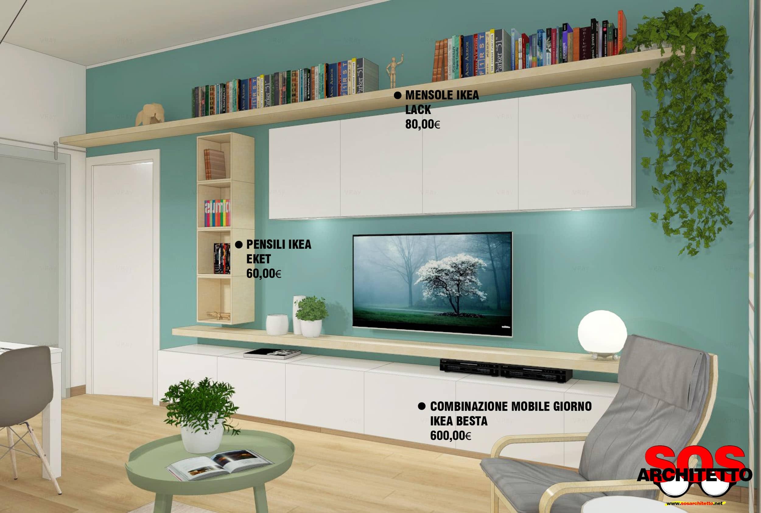 Arredare Mensole Soggiorno rivoluzionare un soggiorno con l'arredamento giusto - sos