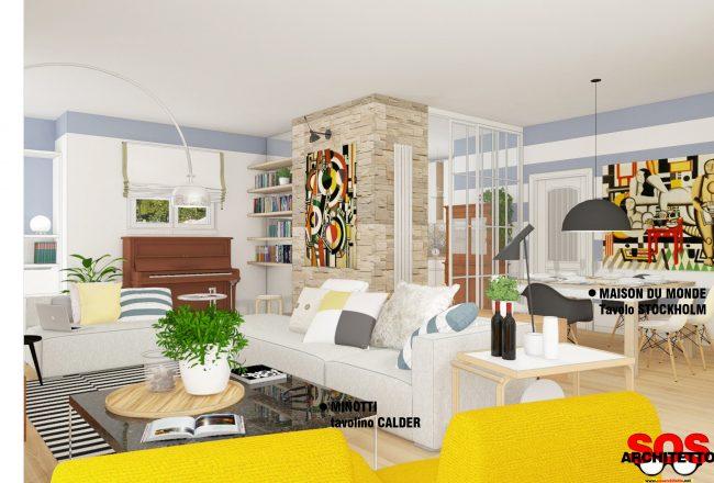 Arredamento Soggiorno - Progetto Casa