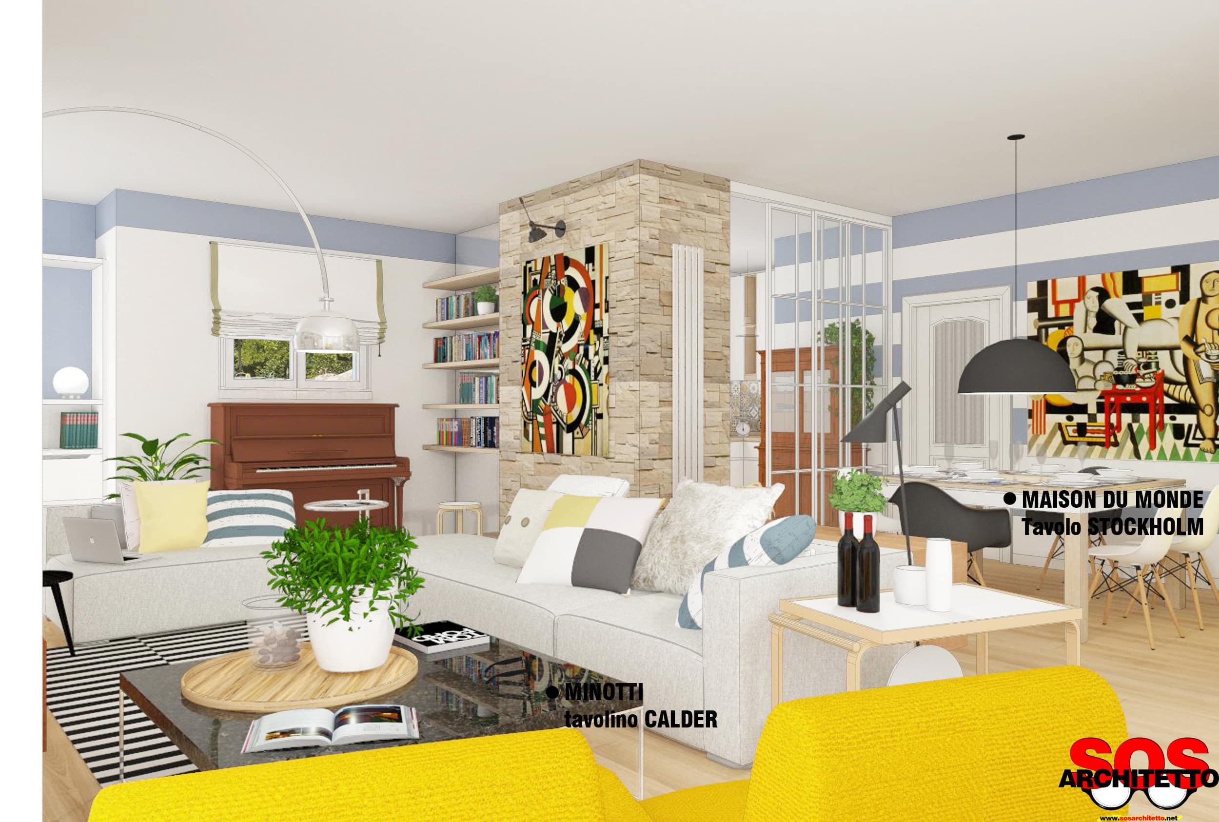 Trasformare la tua casa con l 39 arredamento sos architetto for Progetto arredamento online