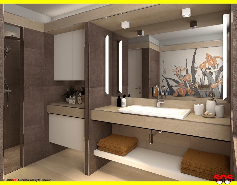 Ristrutturare il bagno con il gres porcellanato sos architetto - Bagno gres porcellanato ...
