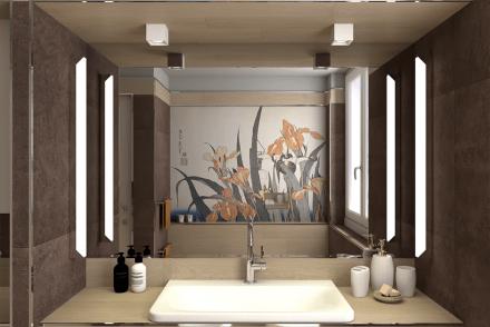 bagno-pietra-legno-lavabo