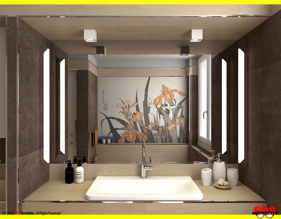 Ristrutturare il bagno con il gres porcellanato sos architetto
