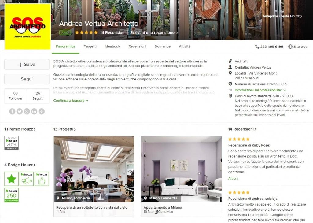 Sos Architetto - Pagina Houzz