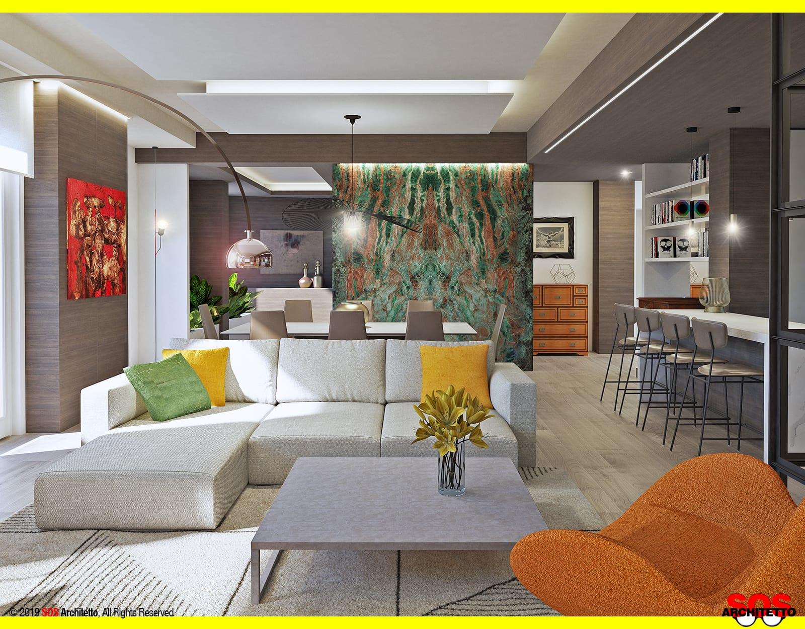 Illuminazione Per Soggiorno Moderno illuminare un controsoffitto in cartongesso - sos architetto