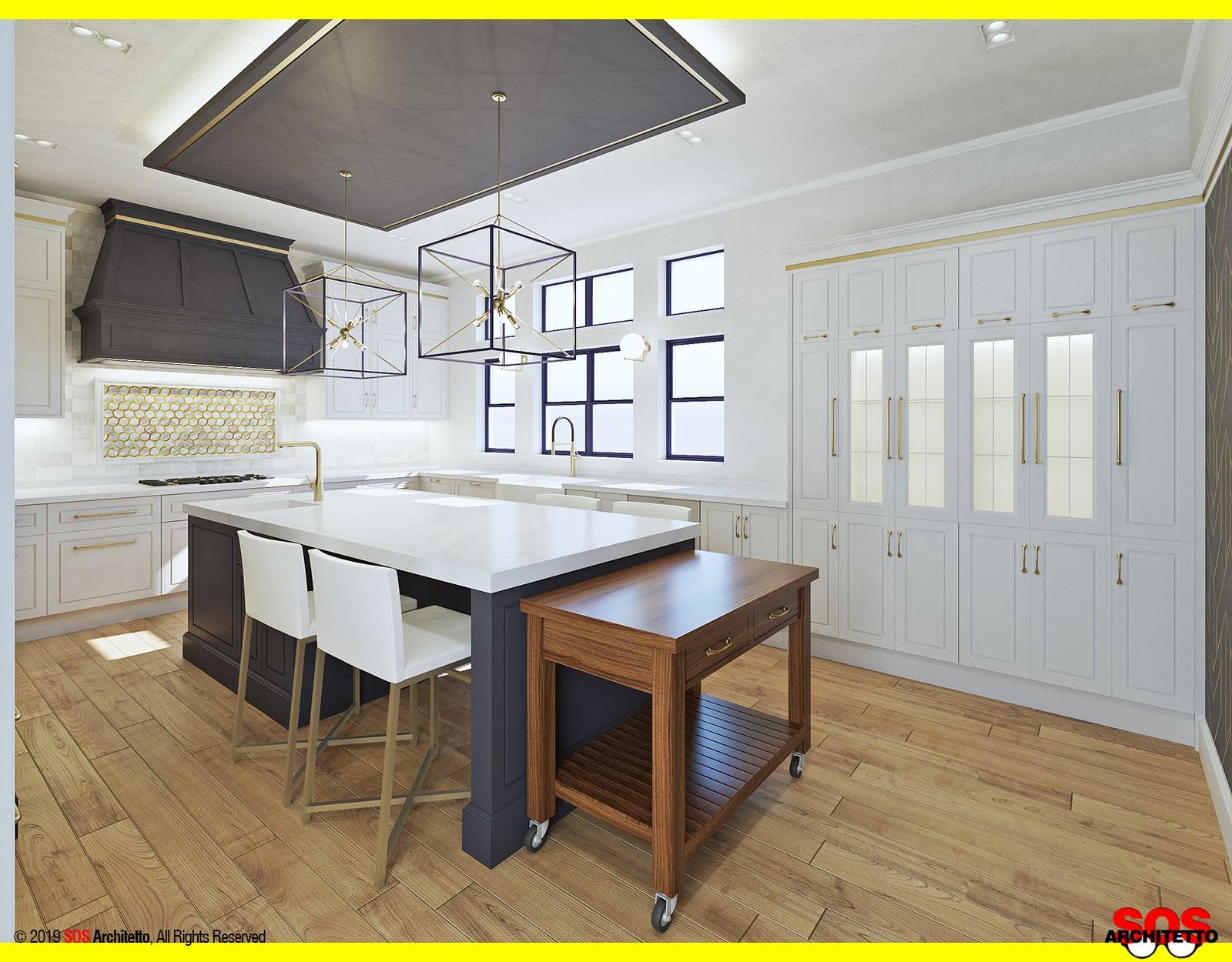 cucina-classica-isola-progetto