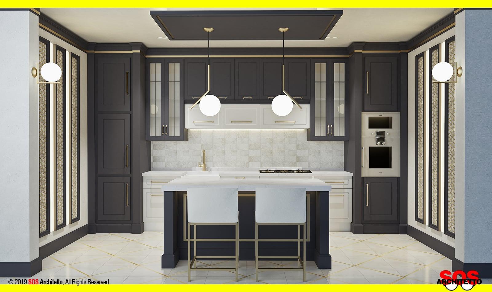 cucina-classica-piccola-progetto