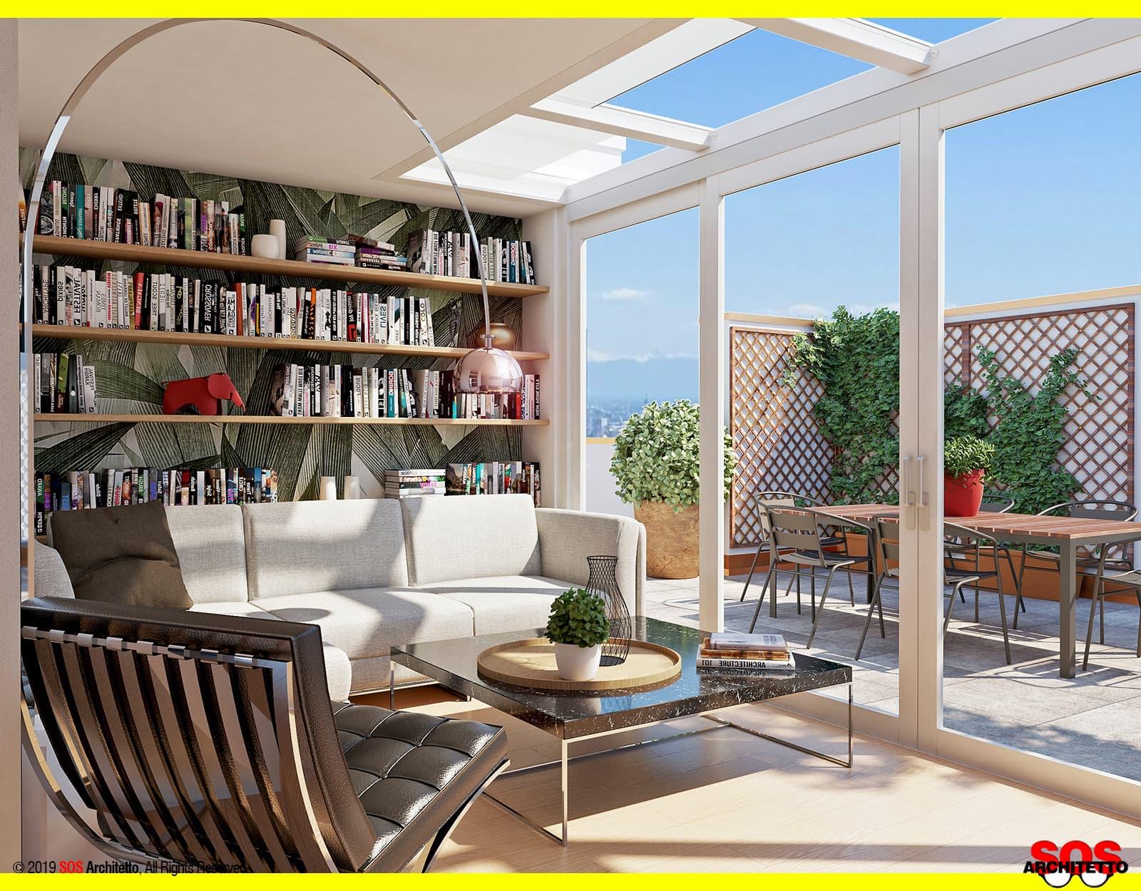 Coprire Terrazzo Con Veranda serra bioclimatica e veranda: differenze - sos architetto