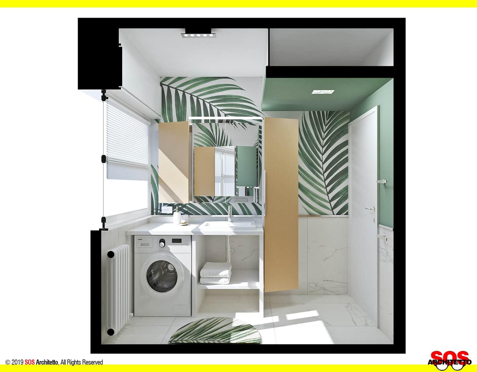 sezione-bagno-piccolo-lavabo