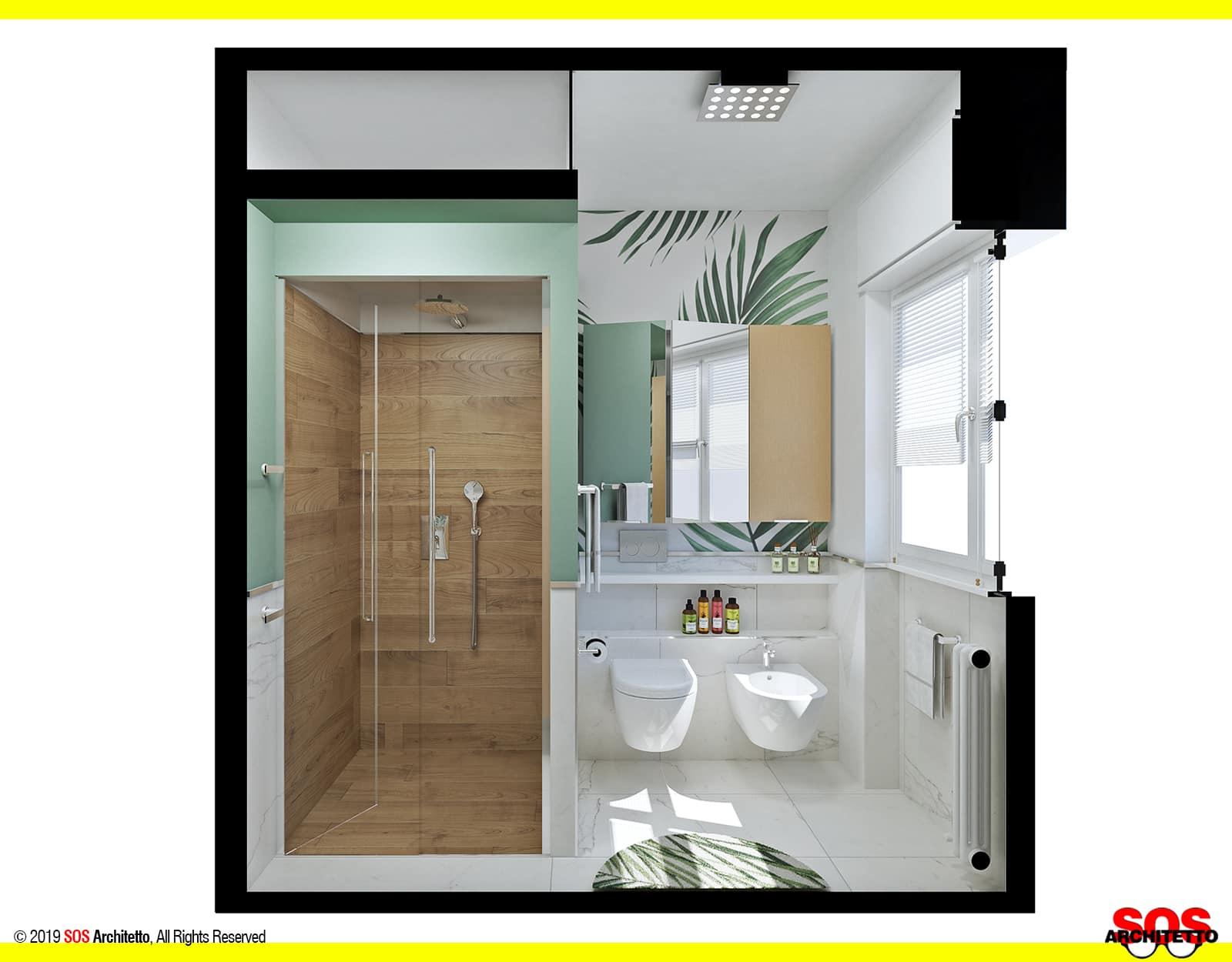 Docce Per Bagni Piccoli bagno piccolo con lavatrice - idee low cost - sos architetto