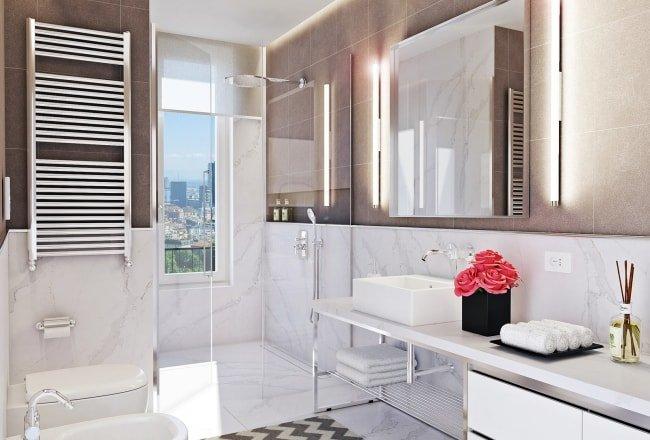 doccia-filo-pavimento-bagno-silestone