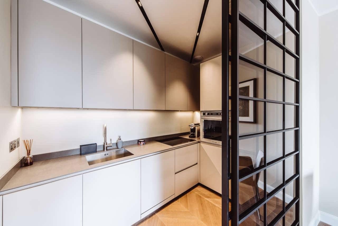 Come Dividere Sala E Cucina vetrate scorrevoli: dividere cucina e soggiorno - sos architetto