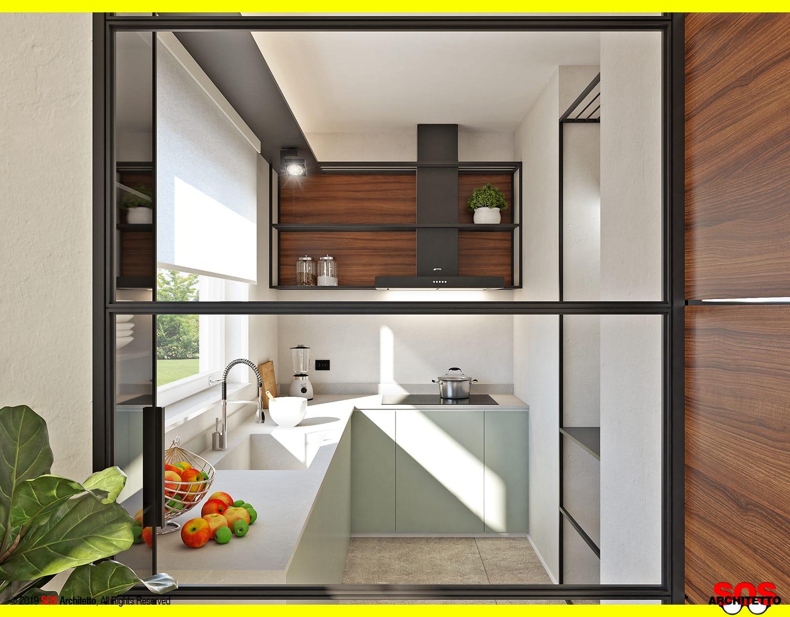 pareti-divisorie-vetrate-cucina