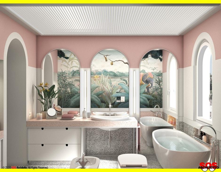 bagno-rosa-vasca-freestanding-appoggio