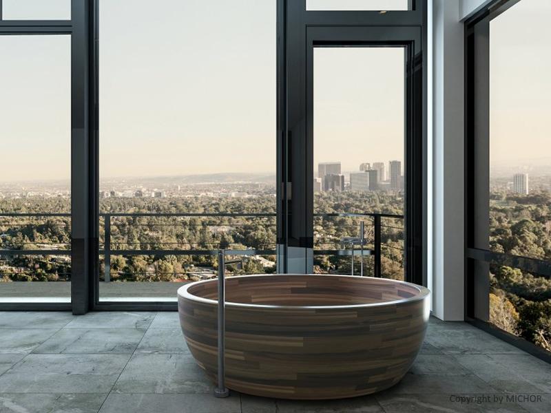 vasca-bagno-legno-rotonda
