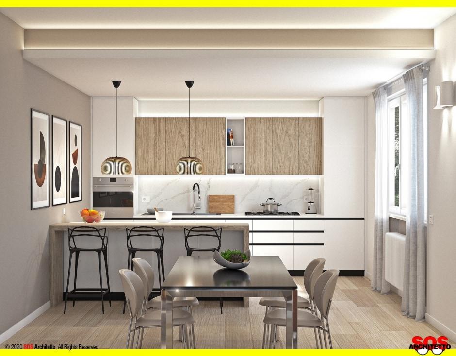 piano-induzione-cappa-integrata-cucina