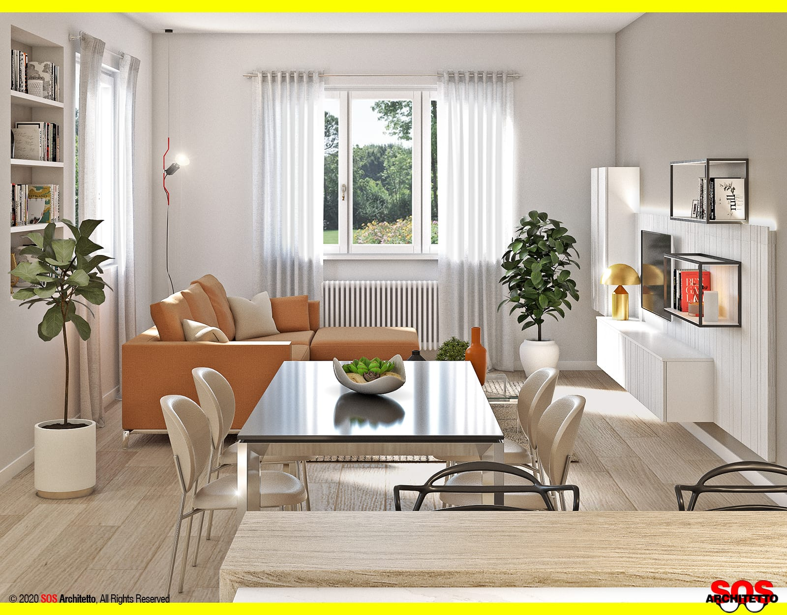 soggiorno-open-space-cucina